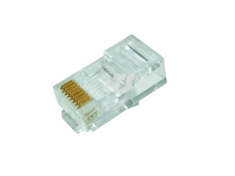 Dintek PowerMAX Cat.6 UTP Solid RJ45 Plug (100pcs)