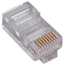DINTEK RJ45 CAT6 MODULAR CONNECTOR (30PCS)