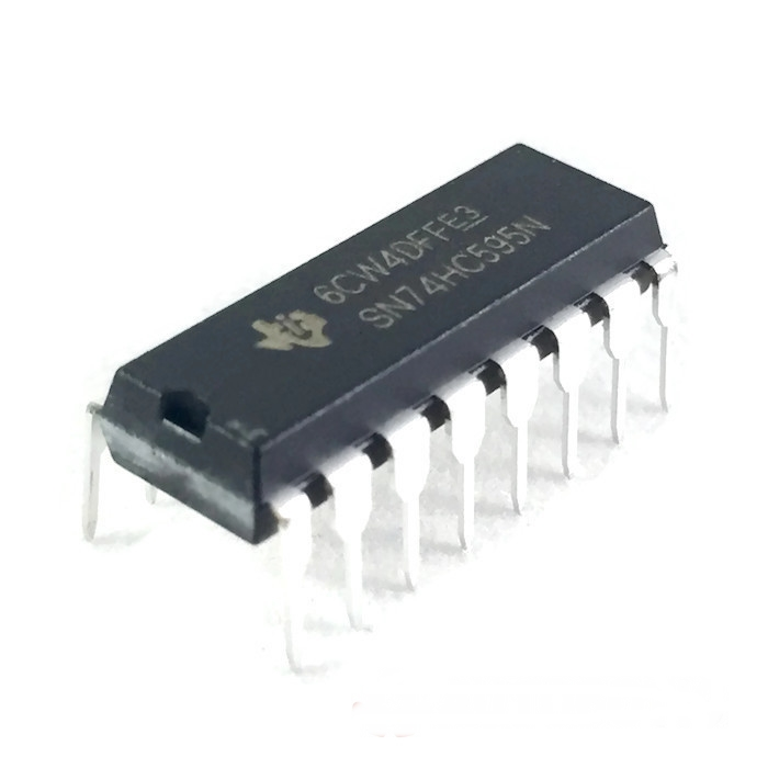 DIP-16 Integrated Circuit IC (SN74HC595) 8-Bit Shift Register