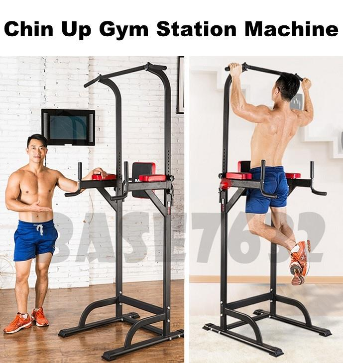 Dip  Chin Up ABS Muscle Gym Fitness Exercise Tower Station Machine