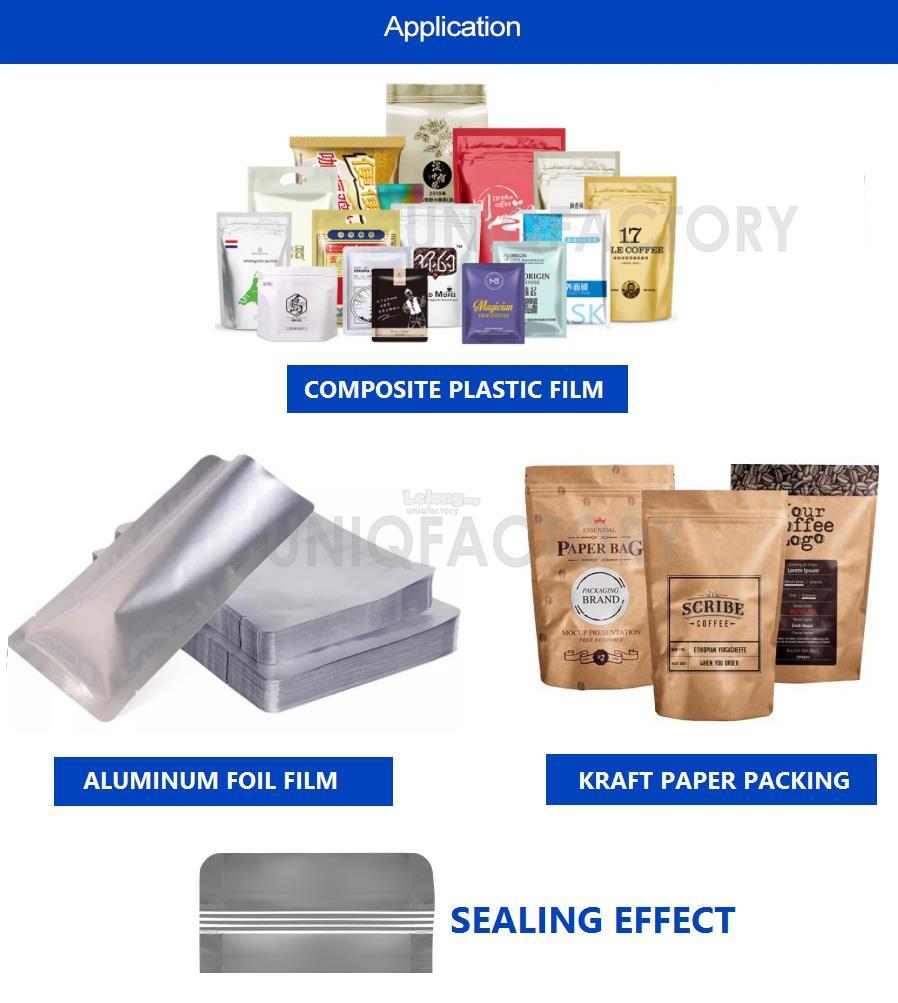 Direct Heat Plier Impulse Sealing Machine Handheld Aluminium Foil