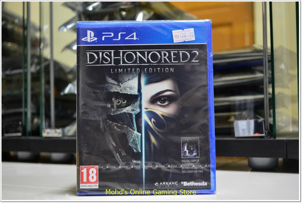 DISHONORED 2 LIMITED EDITION PS4 GAME
