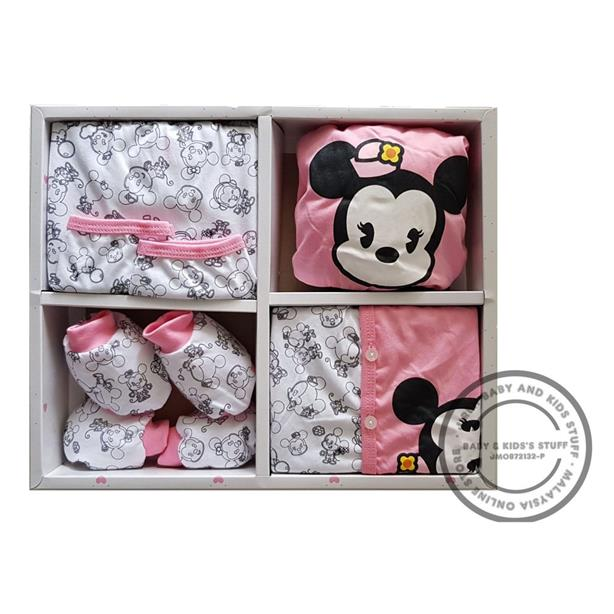 Disney Baby Pink Minnie Mouse Gifts Set