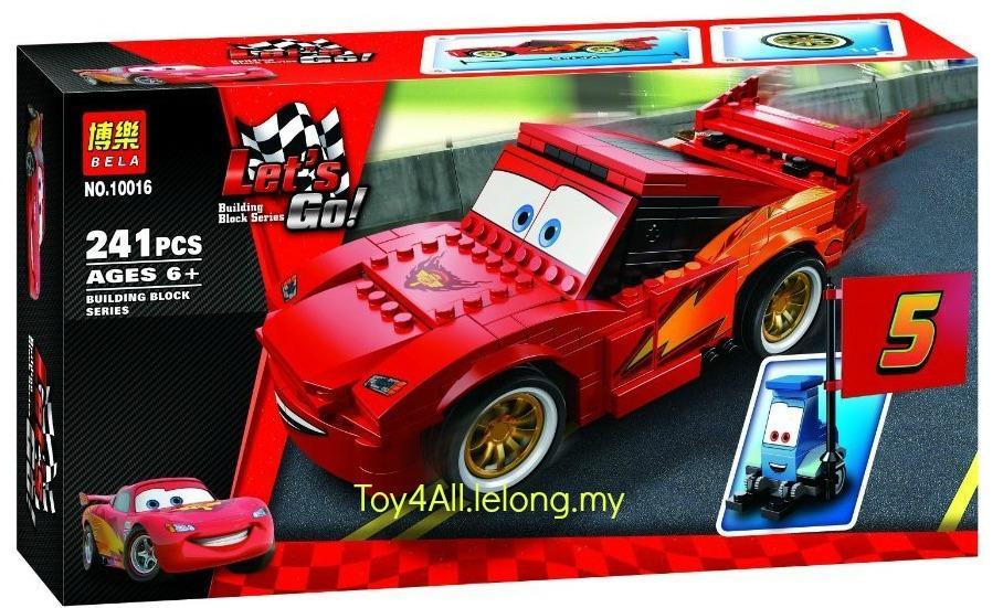 Games Lego Cars  Lightning Mcqueen