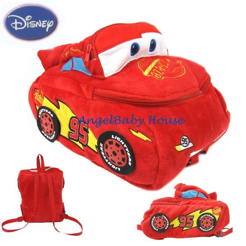 Disney Cars Backpack For Kids Boy School Bag