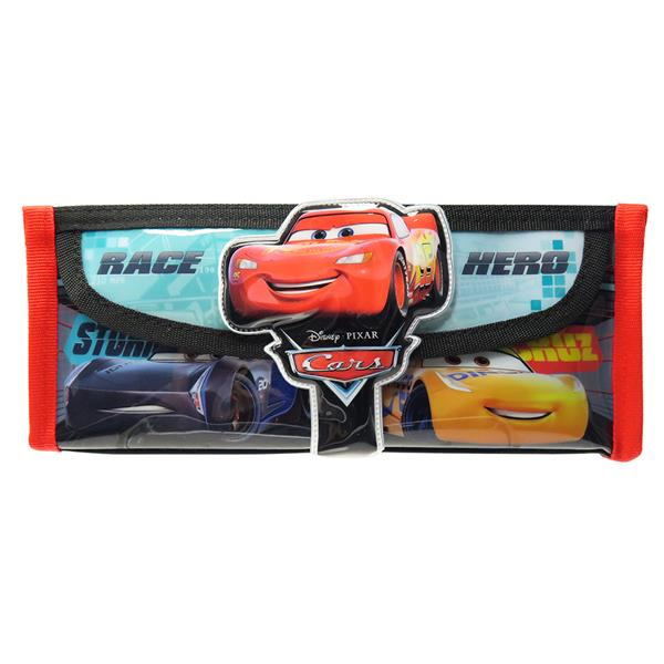 DISNEY CARS HERO SQUARE PENCIL BAG WITH POCKET