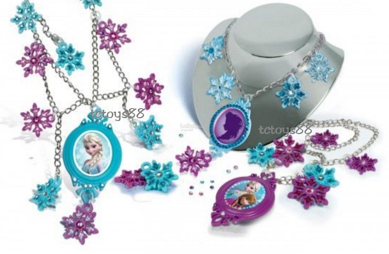 DISNEY FROZEN ELSA NECKLACES & CHARMS ELSA ANNA TOY SNOWFLAKES PENDANT