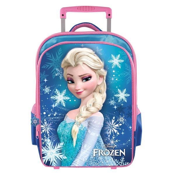 7599429625 DISNEY FROZEN ELSA PRIMARY SCHOOL TROLLEY BAG