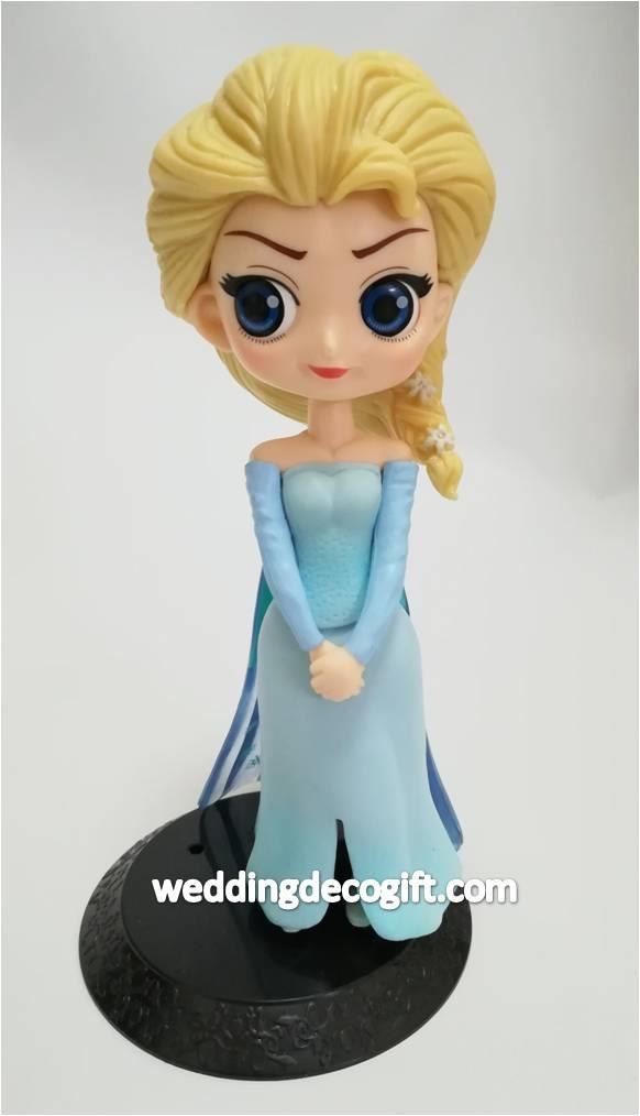 Disney Frozen Elsa Toy Figures, Elsa Cake Topper - CCT54