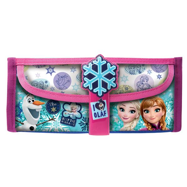 DISNEY FROZEN OLAF SQUARE PENCIL BAG WITH POCKET