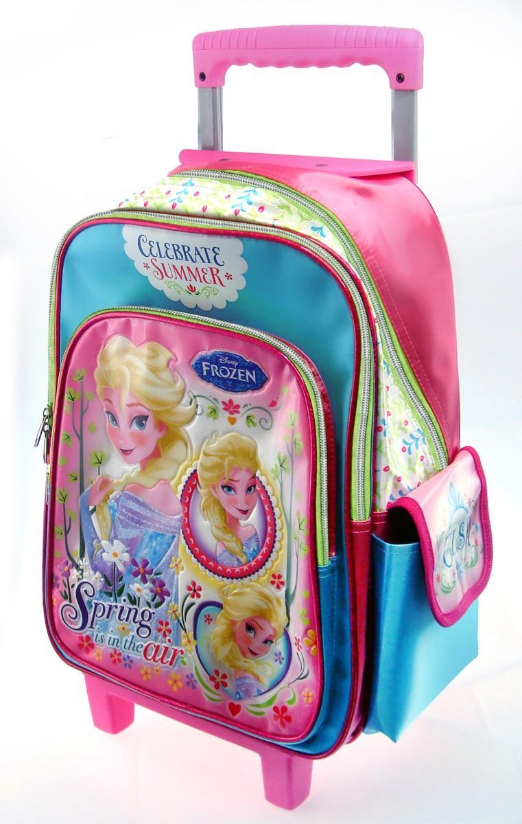 5a98cf40be Disney Frozen School Trolley Bag W30xH40xD14(CM) - Genuine Licensed