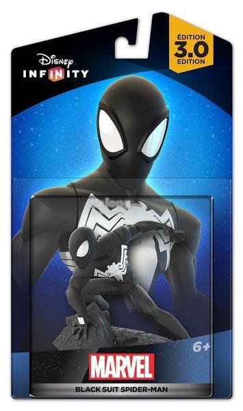Disney Infinity 3.0 Figurine Black Suit Spider-Man