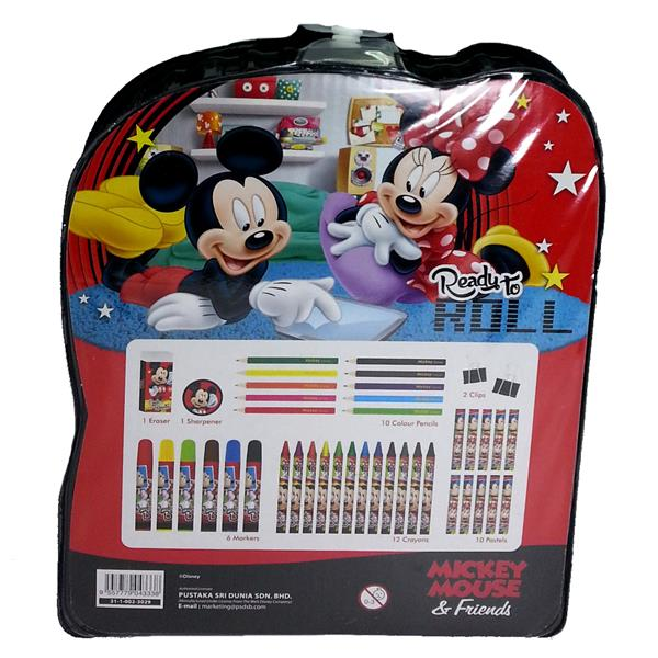 DISNEY MICKEY & FRIENDS 42PCS ART SET
