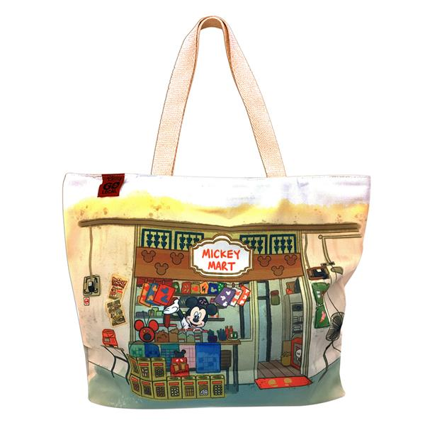 DISNEY MICKEY MOUSE GO LOCAL TOTE BAG (MART)