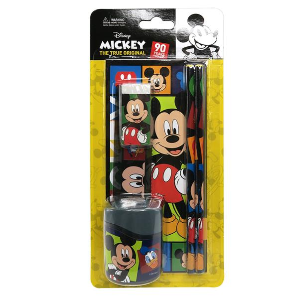 DISNEY MICKEY MOUSE VALUE STATIONERY SET