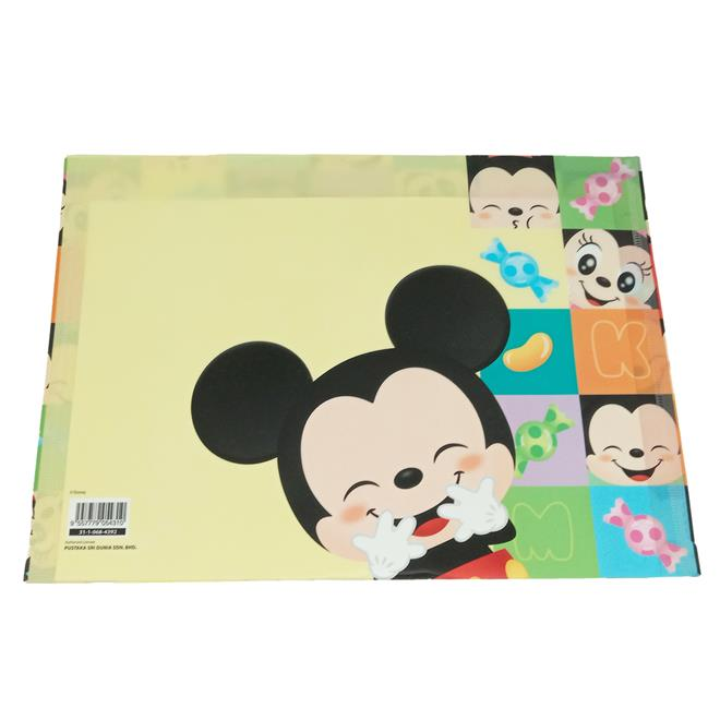 DISNEY MICKEY MOUSE SWEETY DOCUMENT BAG