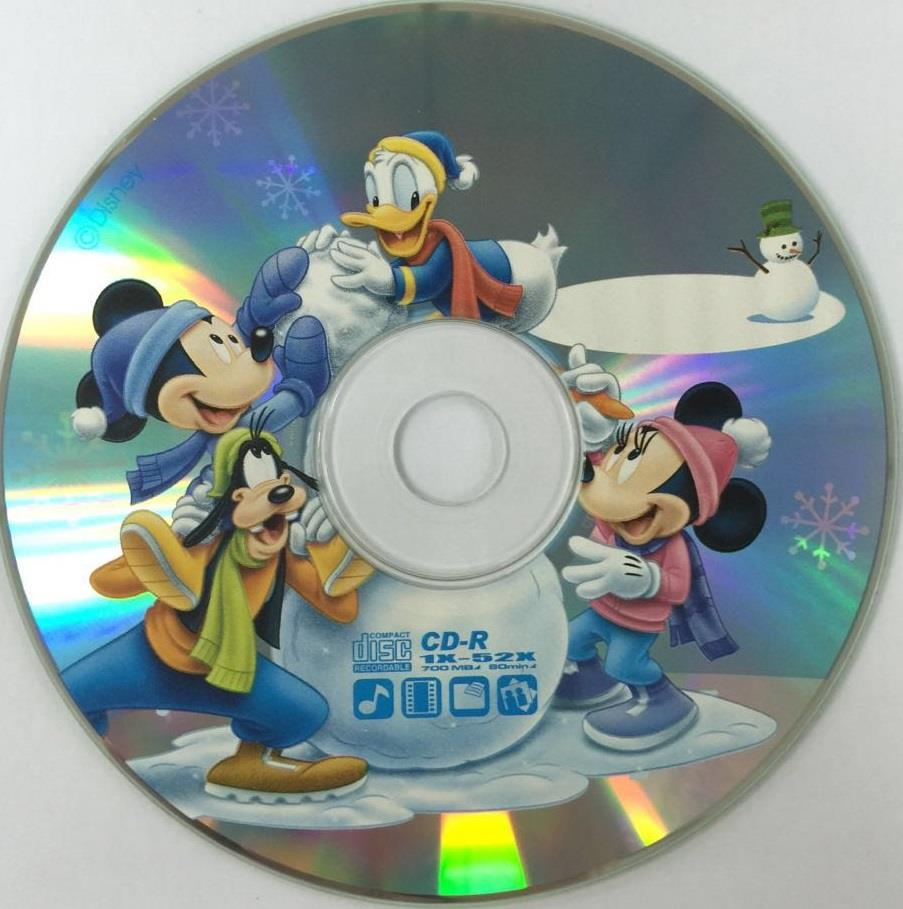 DISNEY MICKEY & WINNIE CD 700MB 52X 10PCS (M002)