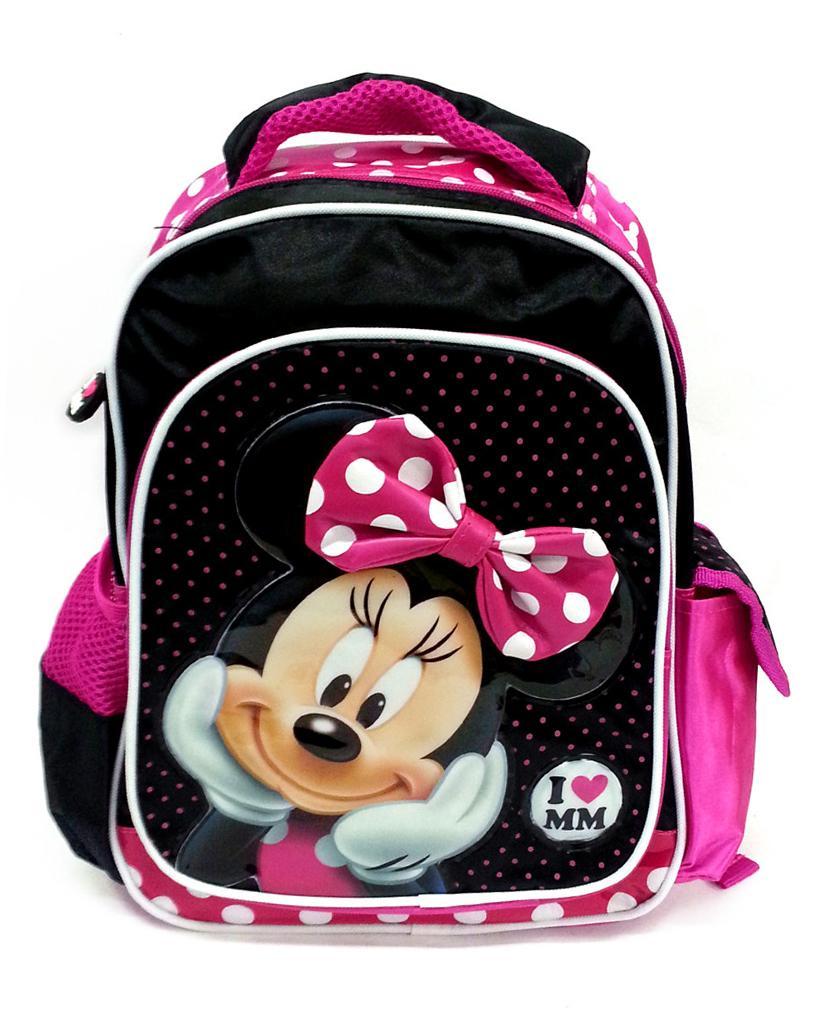 d1b3a765e45 DISNEY MINNIE MOUSE I LOVE MM PRE-SCHOOL BAG   W26xH34cD11(CM)