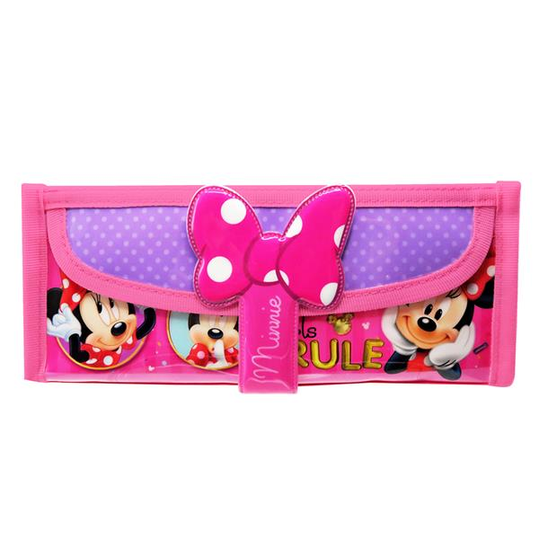 DISNEY MINNIE MOUSE SQUARE PENCIL BAG WITH POCKET