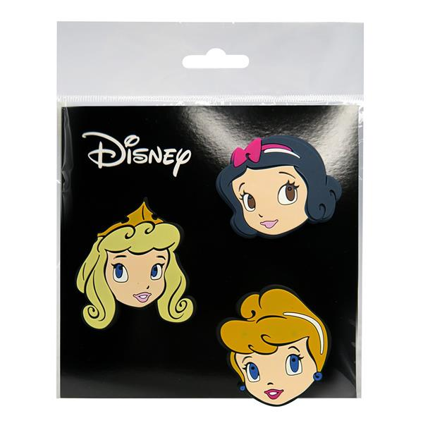 DISNEY PRINCESS EVA ERGONOMIC BACKPACK BADGES (LIMITED EDITION)