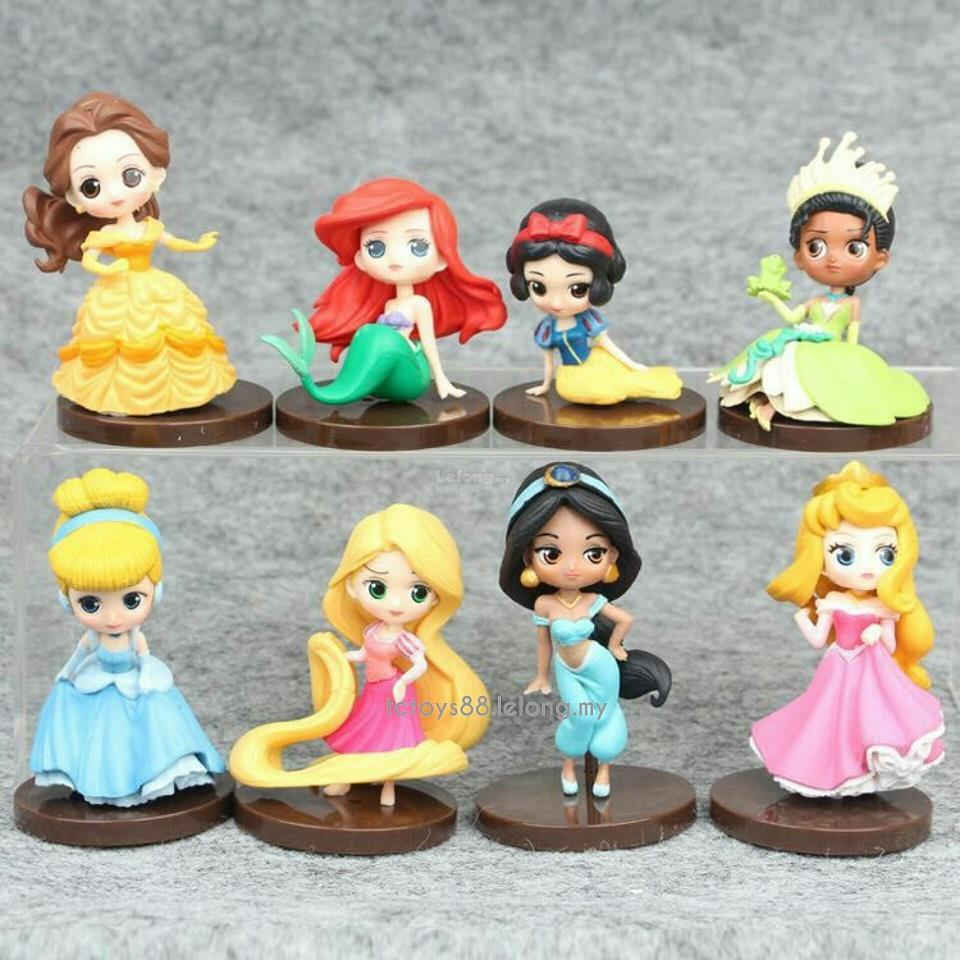 DISNEY Princess Figures Q Posket Mi end 7192018 1248 PM
