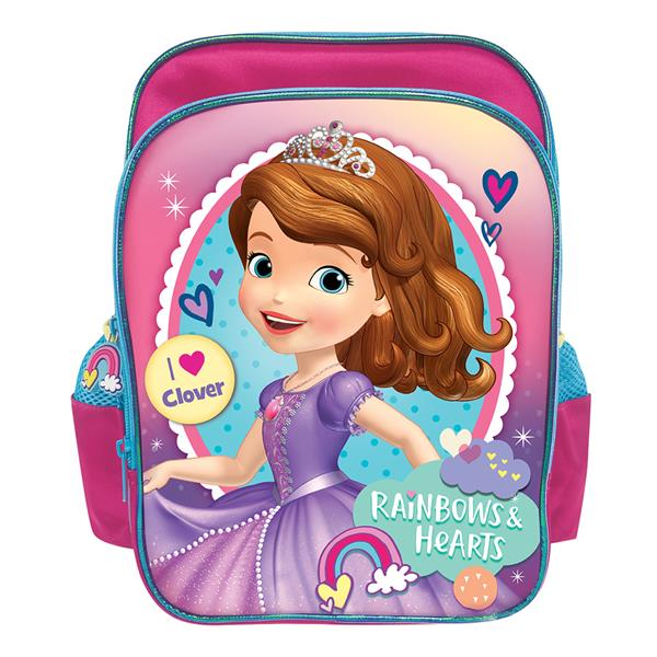 DISNEY SOFIA RAINBOW 12INCH KIDS BACKPACK