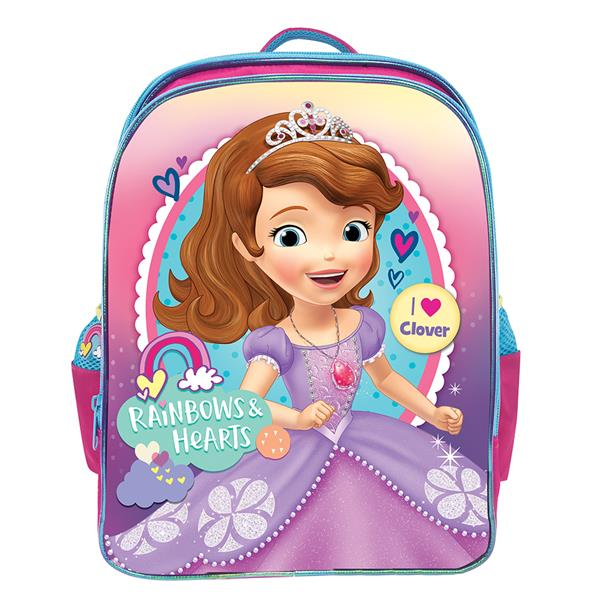 DISNEY SOFIA RAINBOW PRIMARY SCHOOL BAG