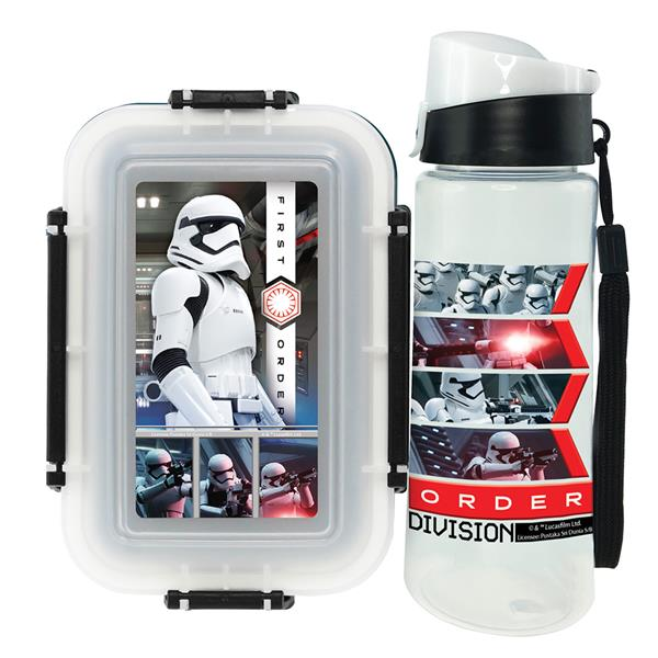 DISNEY STAR WARS LUNCH BOX WITH WATER BOTTLE SET
