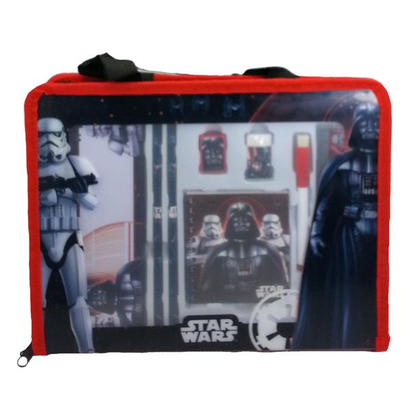 DISNEY STAR WARS STATIONERY SET WITH DOCUMENT BAG