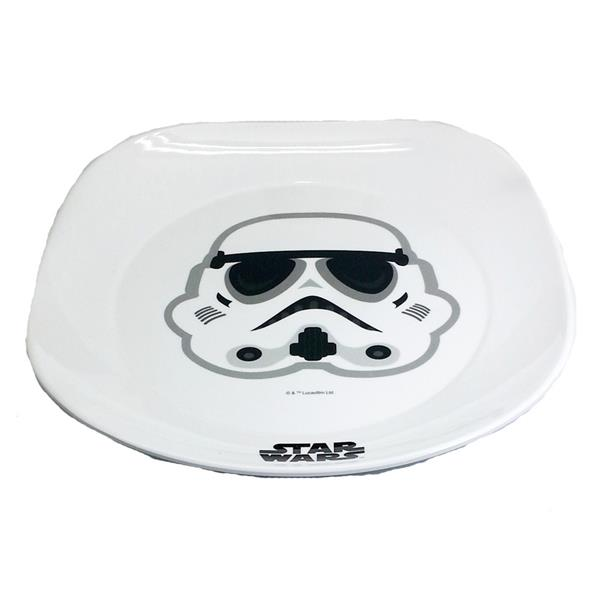 DISNEY STAR WARS STORMTROOPER 9 INCH PLATE