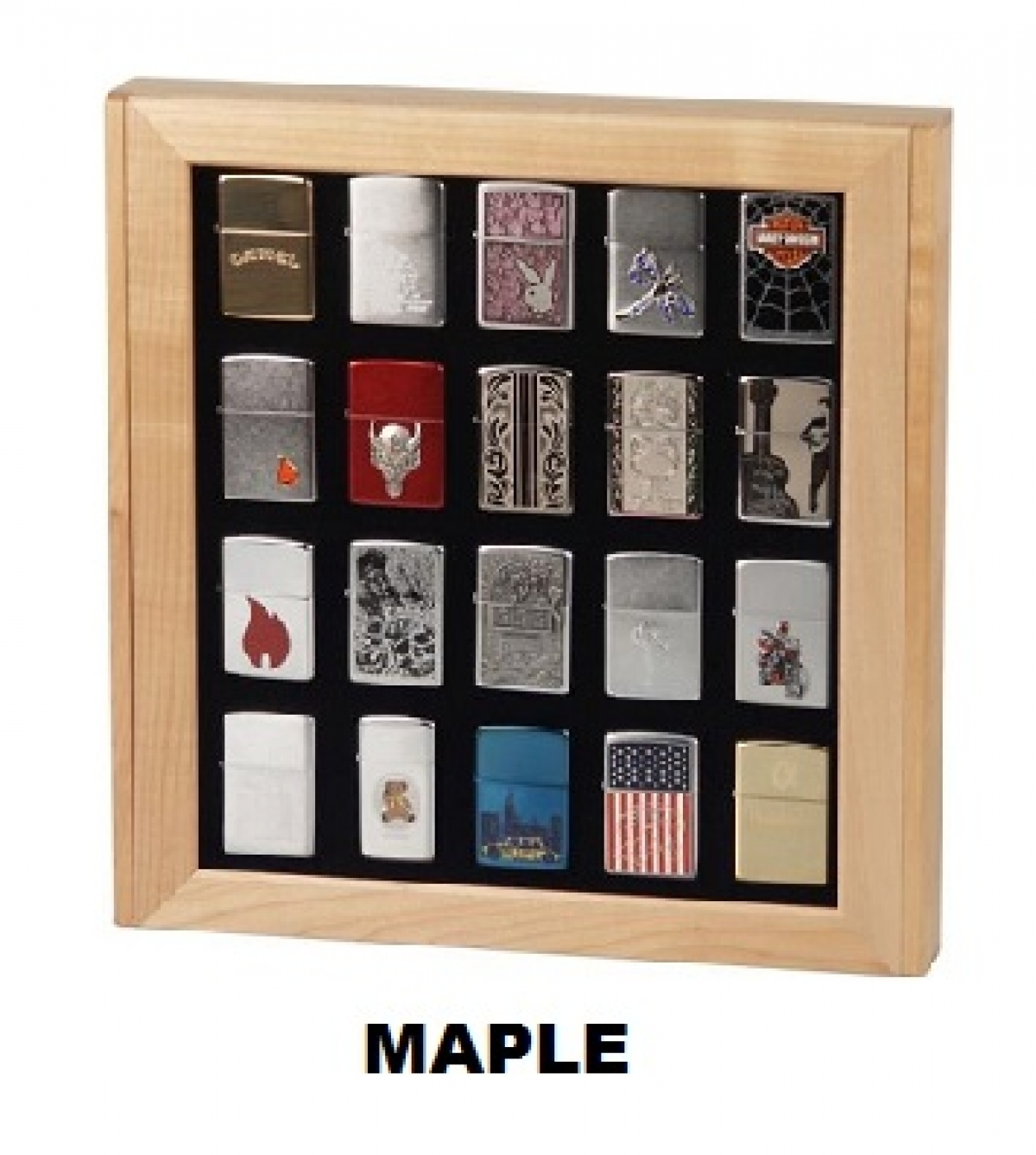 Display Maple for 20 lighters ( Exclude lighter)