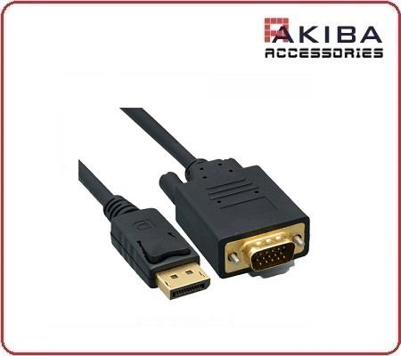 DisplayPort Male DP to VGA MM Cable 1.5m