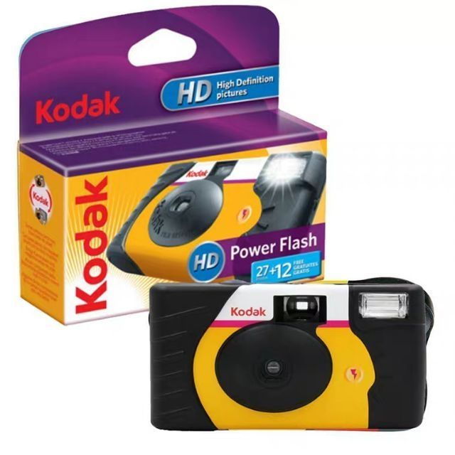 Disposable Camera Power Flash (27+12 Exposure) - KODAK