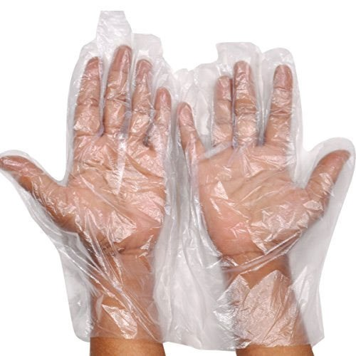 DISPOSABLE PLASTIC GLOVES (1000PCS/BOX)