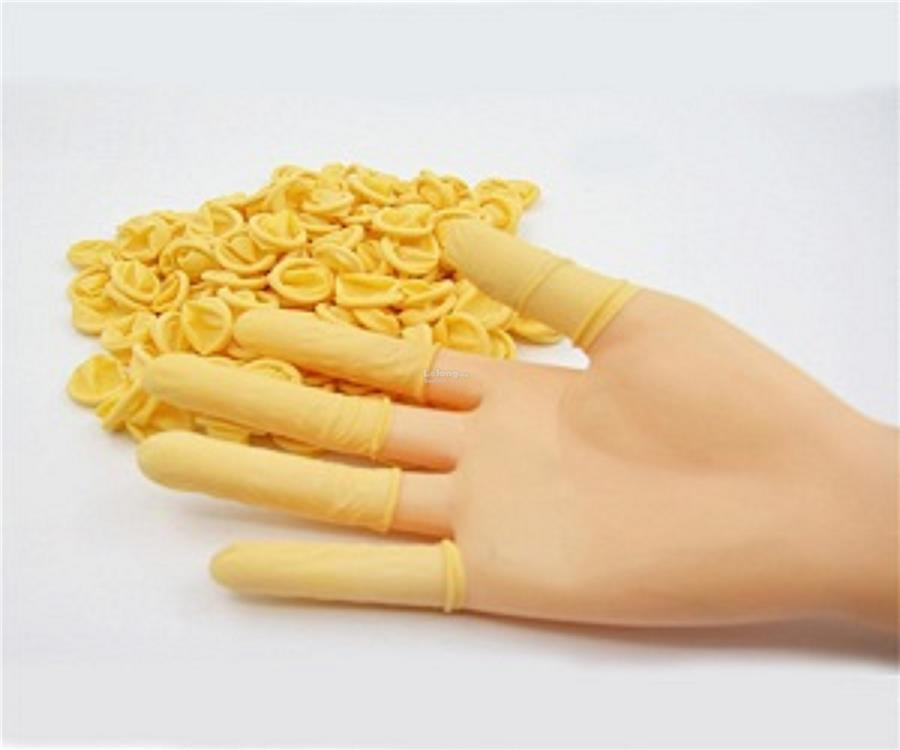 Disposable Powder Free Latex Finger Cot, 500 pieces