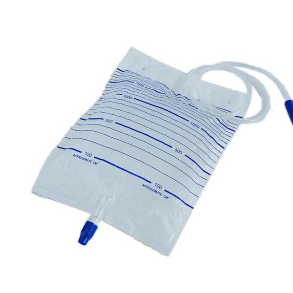 Disposable Urine Bag(Screw Cap) 2000ml 3pcs