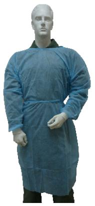 Disposable Non Woven 30Gsm PP Isolation Gown D-Isogown MOQ 10 Units