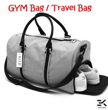 b51026b500 DITD Large Capacity Sports Casual Gym Bag   Travel Bag (0087)