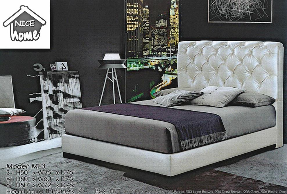 DIVAN BED QUEEN SIZE MODEL M 23 RM699