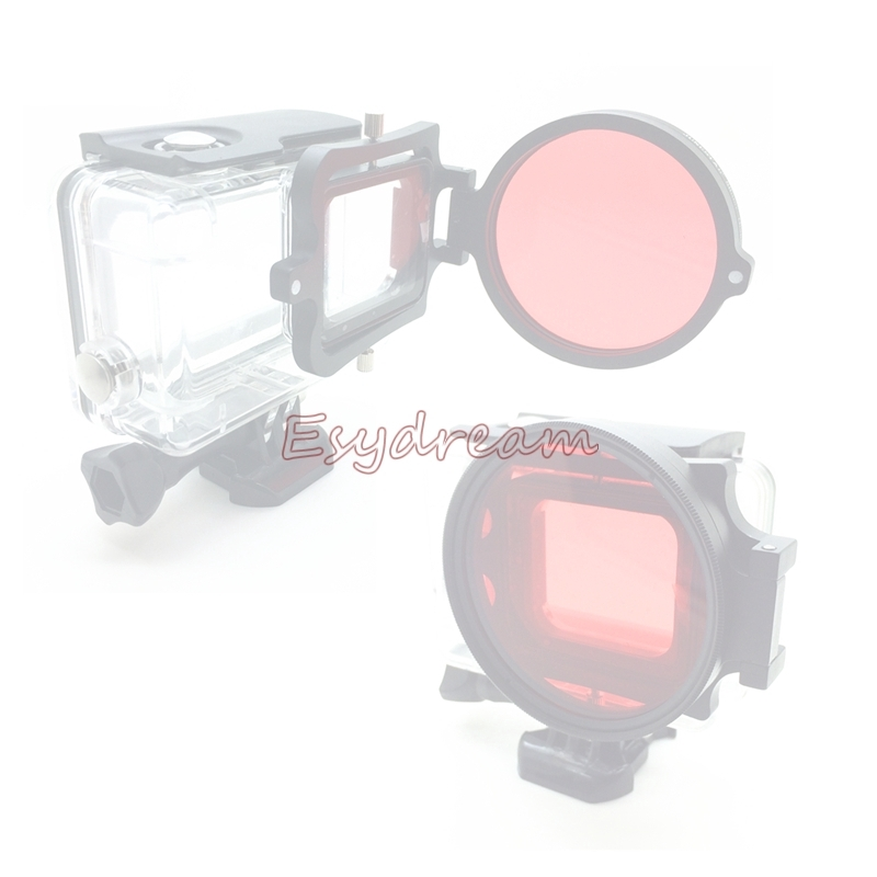 Diving Filter Red Round Red Diving Filter 67 58 52mm - [58MM]