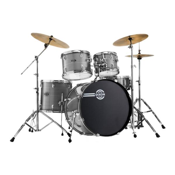DIXON Spark Drum Set (with Cymbals & Throne)