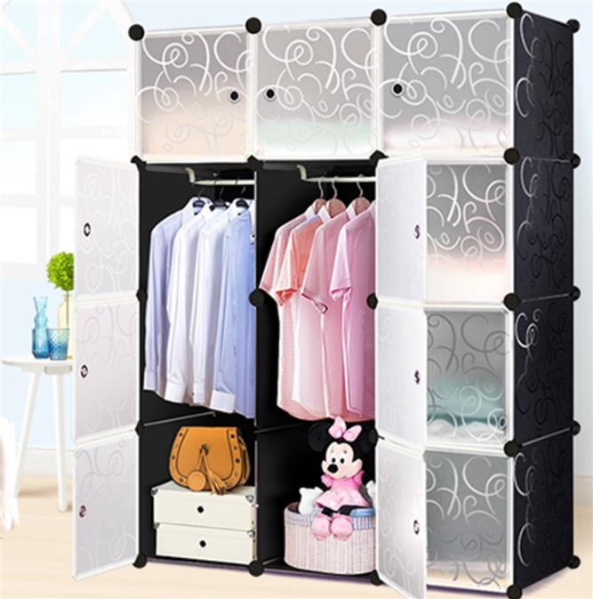 Ordinaire DIY 12 Cube Storage Cupboard Cabinet Wardrobe Toy Shelves 5 Colours. U2039 U203a
