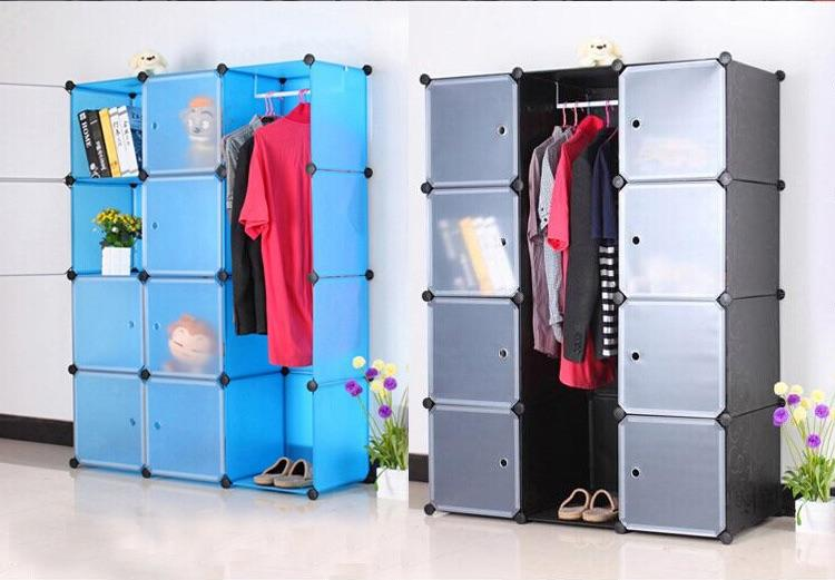 Merveilleux DIY 12 Cube Storage Cupboard Cabinet Wardrobe Toy Shelves 5 Colours