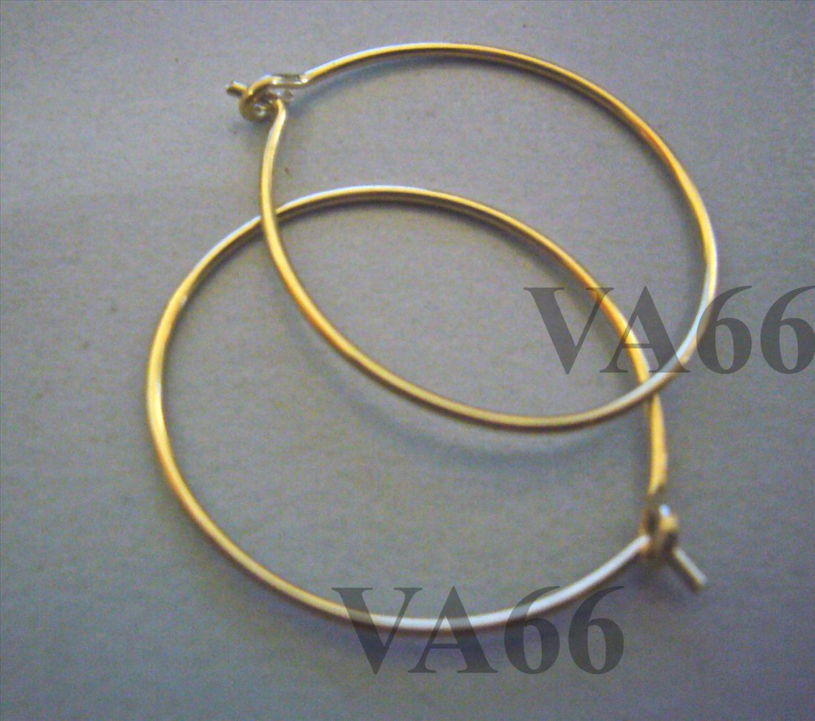 Diy 14k Gold Filled Earring Hooks Hoops Hoopies Suasa Small Loops
