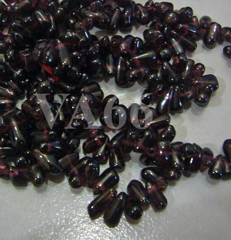 "DIY 28"" Red Maroon Garnet Gemstones Bottle Shape Medium Genuine Gemsto.."