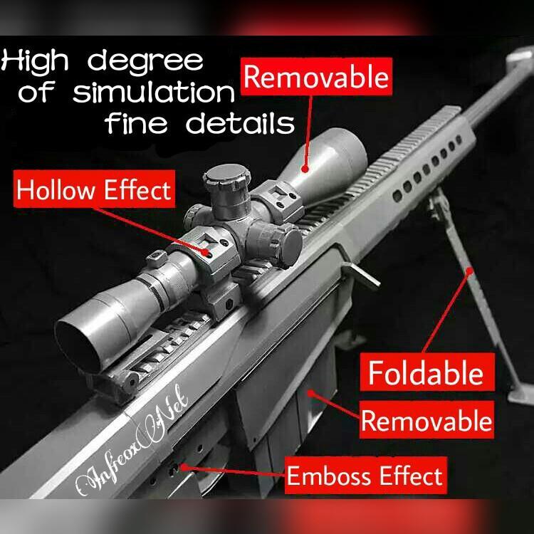 Diy 3d Paper Craft Model Firearms Gu End 6182017 750 Pm