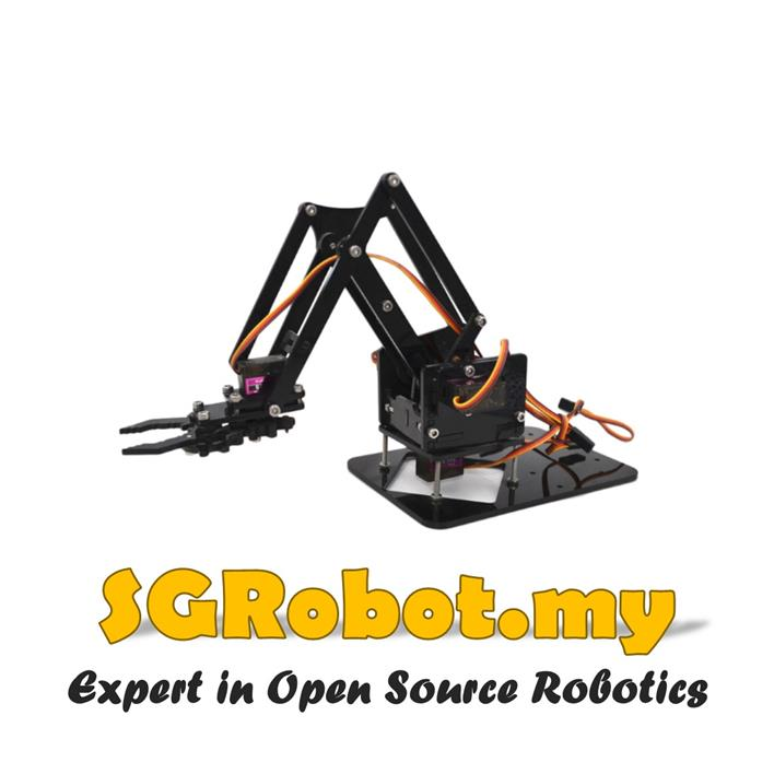 Diy Arduino Robot Arm Learning Acrylic Kit