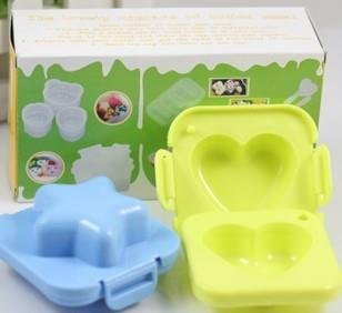 DIY Boiled Eggs Moulds Molds Lunch Box Accessories
