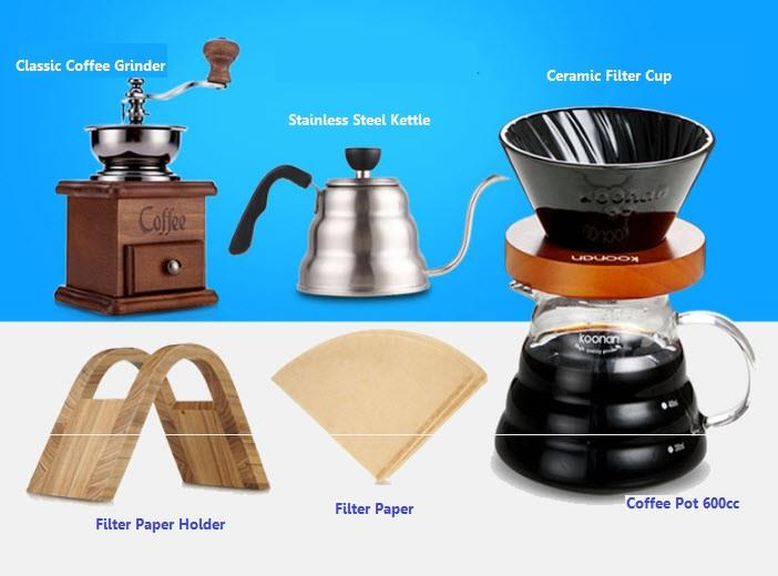 Princess Classic Coffee Maker And Grinder : DIY Brewing Coffee Maker Coffee Hand (end 2/24/2019 3:15 PM)
