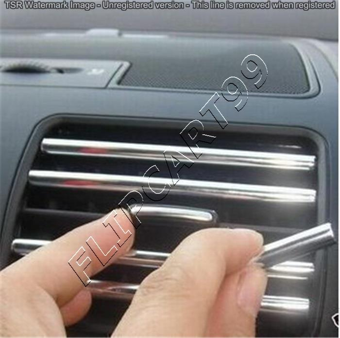 DIY Car Interior Air Conditioner Outlet Decoration Strip Vent Grille